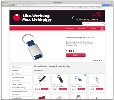Anfrage-Shop